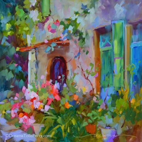painting of light